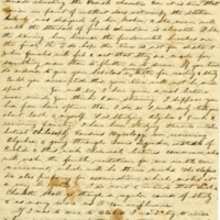 Letter to Cornelia Cowles