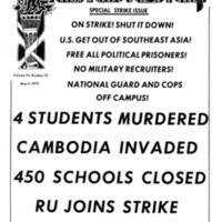 Strike Papers: Illinois: Roosevelt University