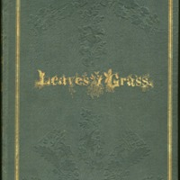 Whitman, Leaves of Grass, front cover.tif