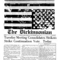 Strike Papers: Pennsylvania: Dickinson College